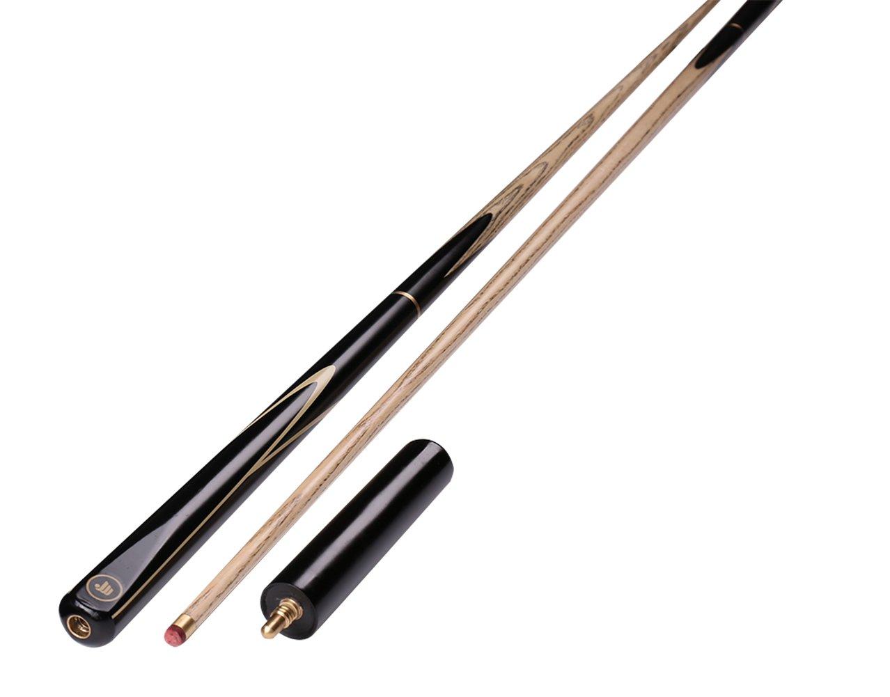 540 g punte da 9,7 mm Ommda Stecca da biliardo in legno di frassino 145 cm donna con custodia attacco 3//4 ASH SD20
