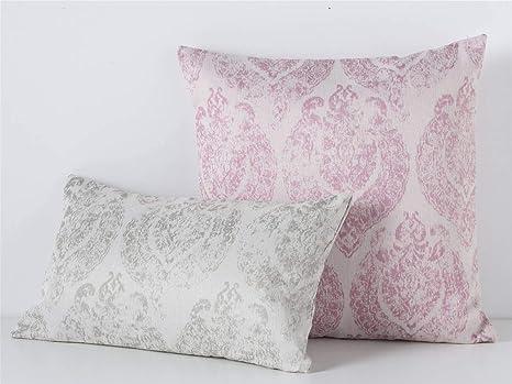 Orian - Funda cojín OTAWA 60x60 cm sin Relleno - Color Rosa ...