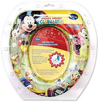 Amazon.com  Mickey Mouse Soft Potty Seat  Toilet Training Seat Covers  Baby  sc 1 st  Amazon.com & Amazon.com : Mickey Mouse Soft Potty Seat : Toilet Training Seat ...
