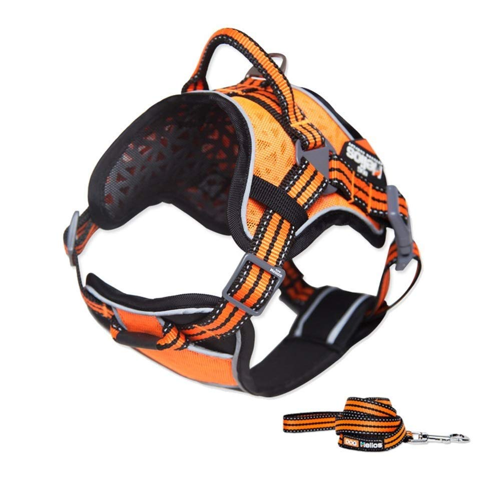 b3ef374d3e29 Strong Duty Heavy Reflective Handle With Strap Chest Harness Vest ...