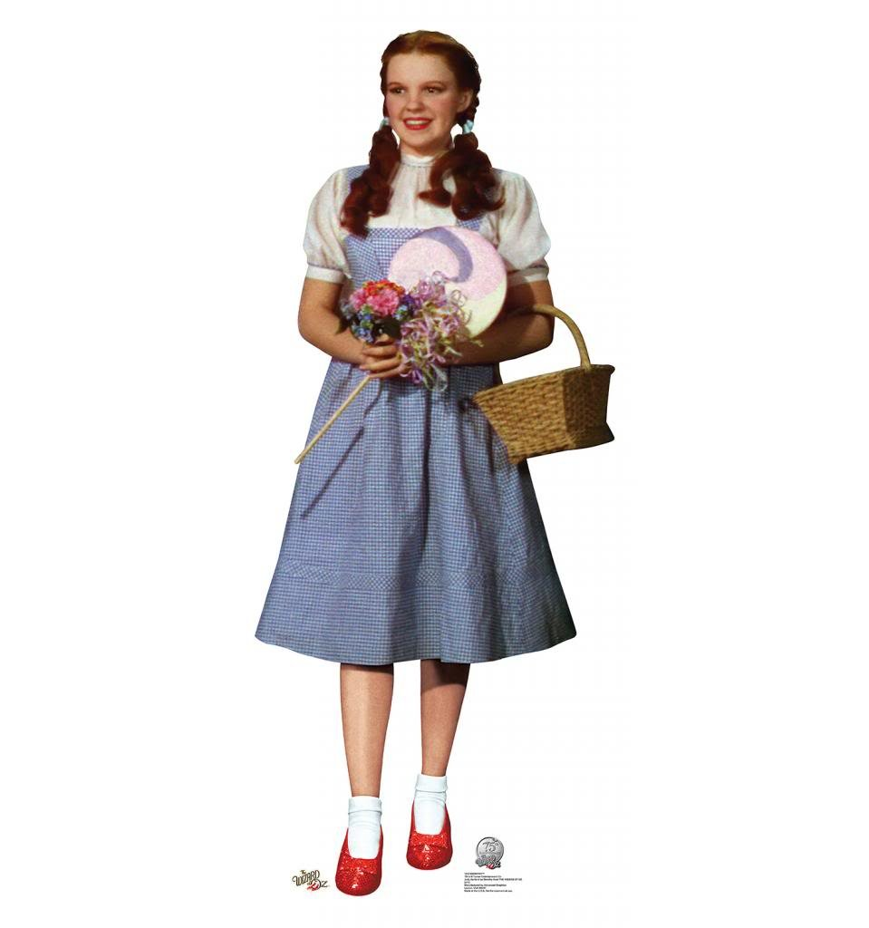 Dorothy - The Wizard of Oz 75th Anniversary (1939) - Advanced Graphics Life Size Cardboard Standup