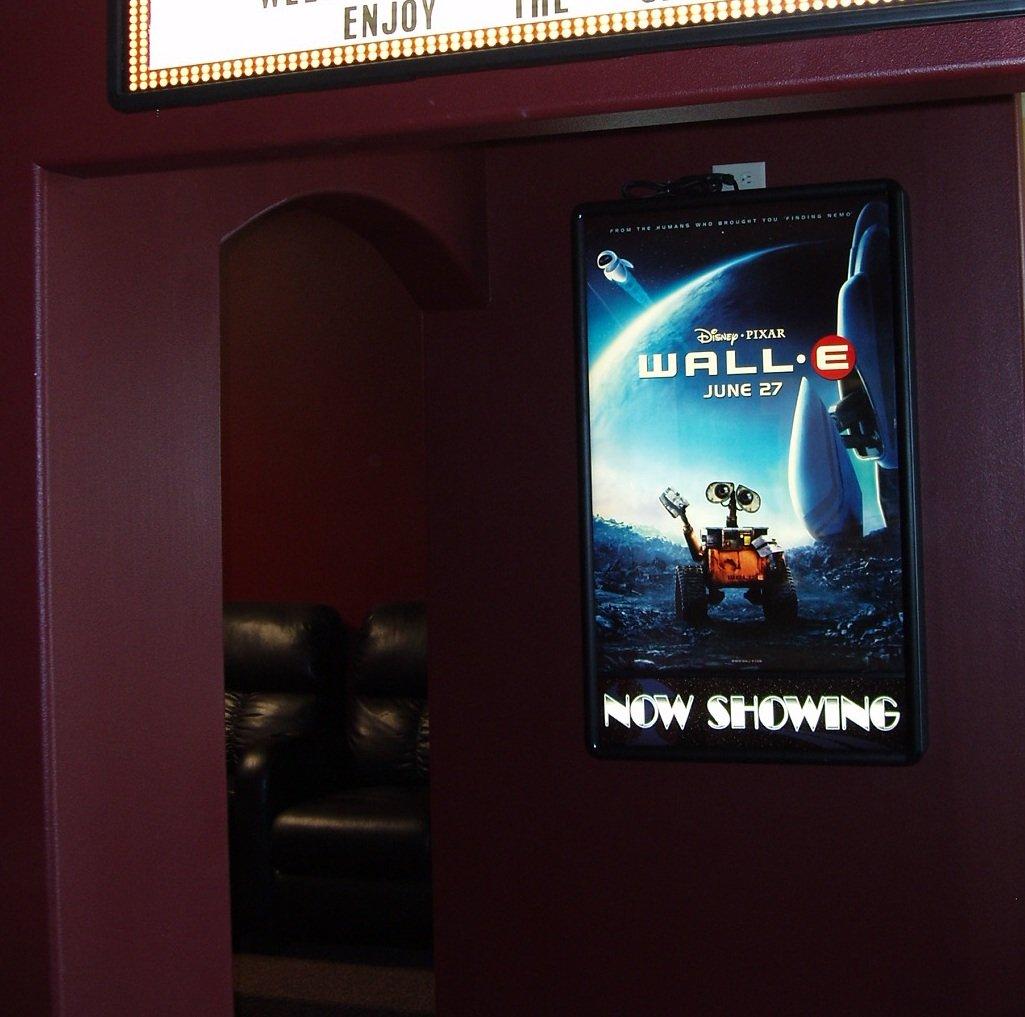Amazon.com: Illuminated Backlit Poster Light Box LED Backlit Movie ...