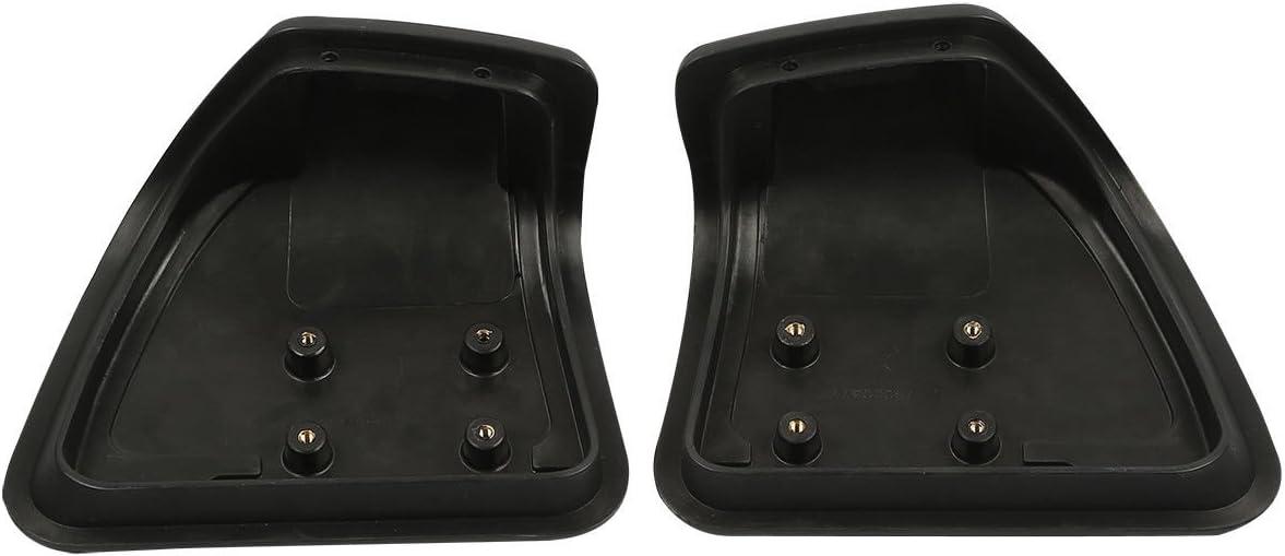 XMT-MOTO Glove Box Doors fits for Harley Davidson Touring Road Glide 2015-later,Matte Black