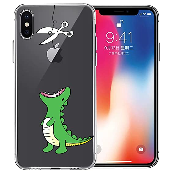 cheaper 951c0 ac942 iPhone Xs Case, iPhone X Case, Doramifer Funny Series Protective Case  [Anti-Slip] [Good Grip] [Ultra Thin] with Aesthetic 3D Print Soft Back  Cover for ...