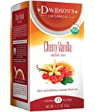 Davidson's Tea Cherry Vanilla, 25 Count Tea Bag