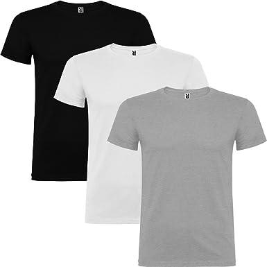 Dalim Pack de 3 Camisetas de Hombre, 100% Algodón, Beagle: Amazon.es: Ropa y accesorios