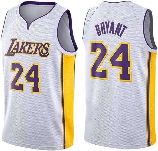 CHXY NBA Camiseta De Baloncesto Kobe Bryant # 24 para Hombre - NBA ...