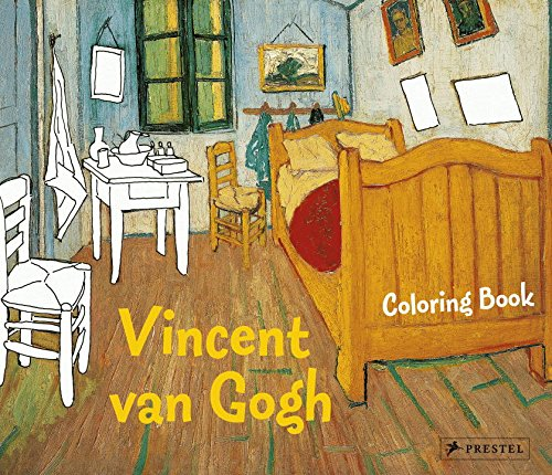Coloring Book Vincent Van Gogh (Prestel Coloring Books)