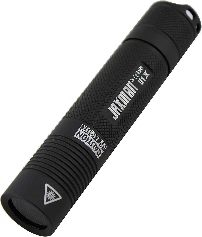 Mini UV Ultra Violet 9 LED Flashlight Blacklight Light Inspection Lamp Torch VvV