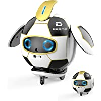 Deerc Coolbo Soccer Ball Robot with Repeat What You Say,Touch Sensingd