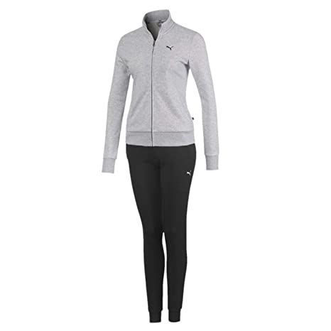 PUMA Classic Sweat Suit Cl TR Chándal, Mujer: Amazon.es: Deportes ...