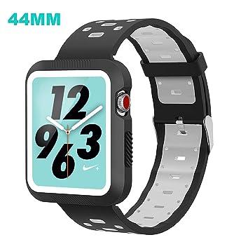 GOSETH® Compatible Apple Watch Series 4 con Funda ...