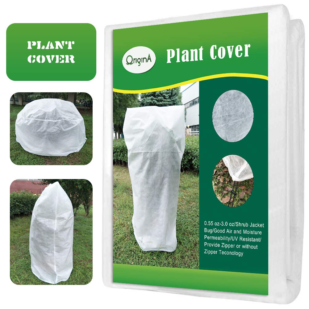 0.95oz//sq.yd OriginA Plant Covers Protection Bags for Outdoor Trees Shrub Jacket Bug//Insect Barrier Bag Height 26 x Dia 32