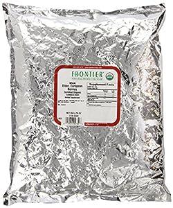 Frontier Elder Berries Whole Organic - 1 lb
