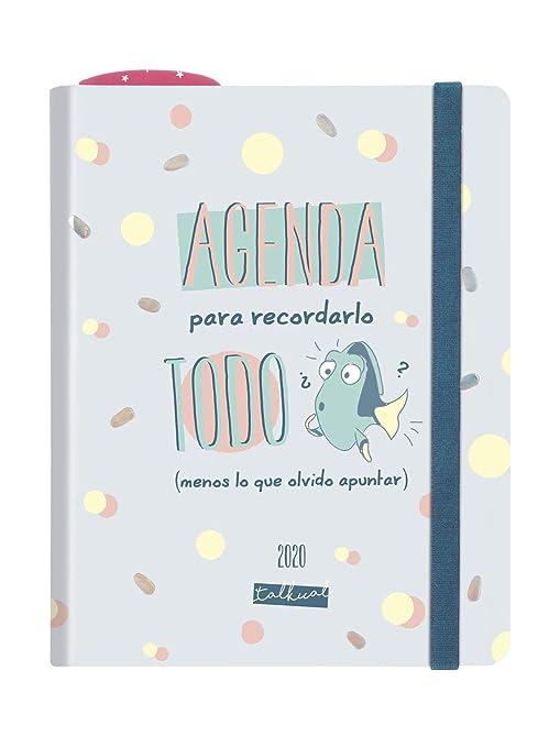 Amazon.com : Finocam - Talkual Agenda 2020 1 Day Page All ...