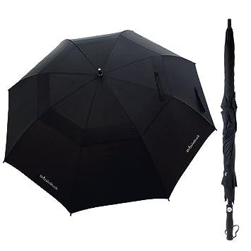 "Mini Paraguas, DrizzleDuck Paraguas Compacto Para Viajes 37"" [Antiviento] Paraguas Pequeño Liviano"