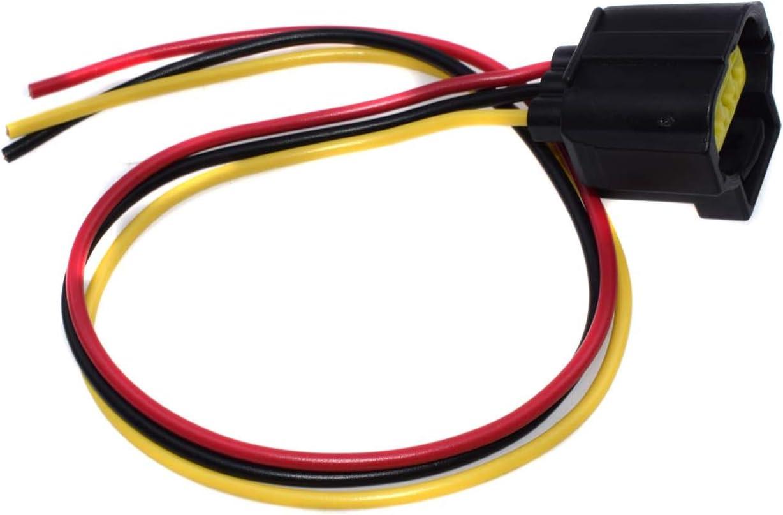 Amazon Com Alternator Connector Harness Plug 3 Wire For Ford Mustang Ranger Focus Explorer Automotive