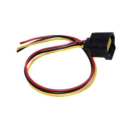 Amazon.com: Alternator Connector Harness Plug 3 Wire For Ford ... on 3 plug switch, 3 plug power, 3 plug valve, 3 plug gasket, 3 plug pin, 3 plug adaptor, 3 plug wiring, 3 plug cord, 3 plug socket,