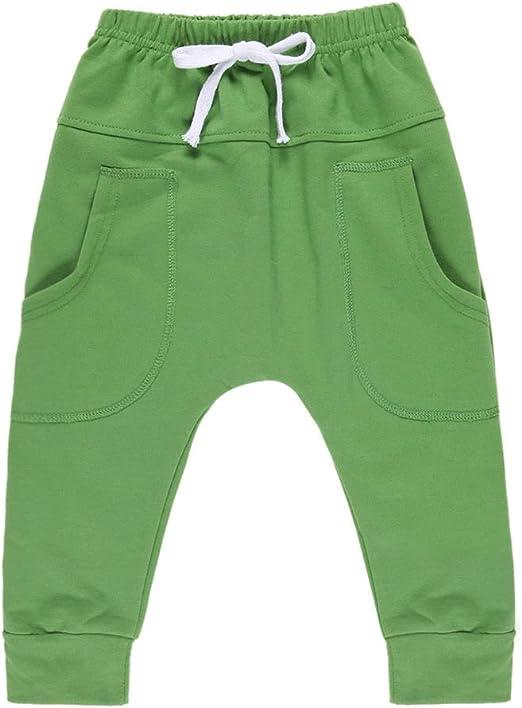 Evelin LEE Baby Boys Girls Pants Kid Toddler Hiphop Harem Infant Sport Jogger