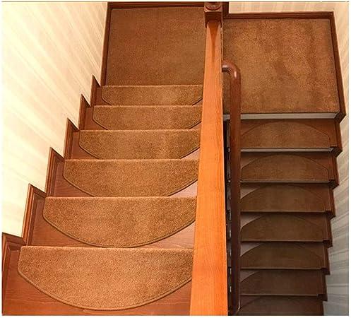 Ertiq - Alfombrilla para Escalera (80 x 24 cm), Color marrón, 105 * 24cm(3.44 * 0.78ft): Amazon.es: Hogar
