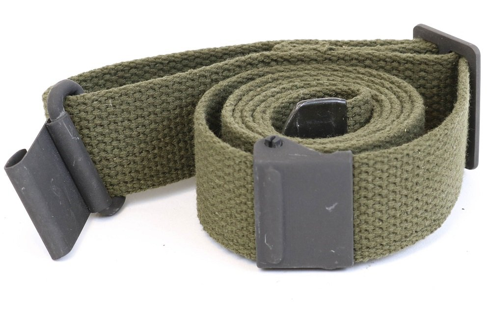 AmmoGarand Web Sling USGI Style Two Point OD Cotton Web for M1 Garand USA Made
