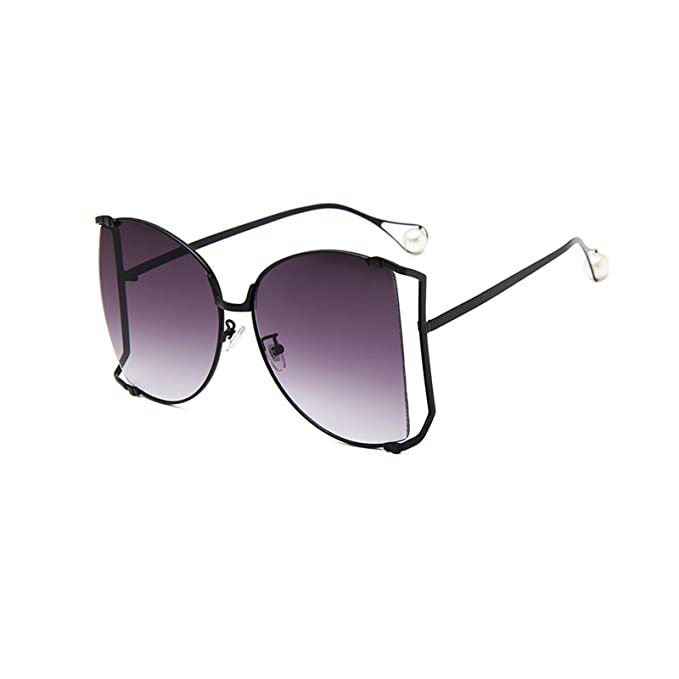 44f2c0dca6 Image Unavailable. Image not available for. Color  Livhò Sunglasses for Women  Oversized Square Metal Frame Brand Designer Shades UV400
