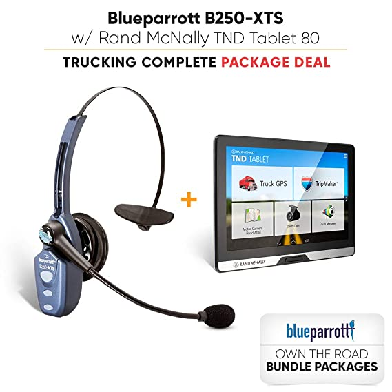 414592f707e Image Unavailable. Image not available for. Color: VXi BlueParrott B250-XTS  (203100) Xtreme Noise Suppression Bluetooth Headset ...