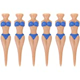 6pcs Bikini Lady Golf Tees Divot Tools Joke Xmas Stag Party