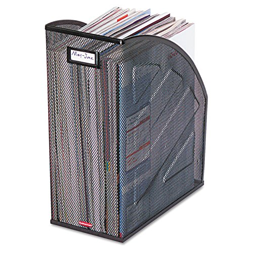 ROL62560 - Rolodex Nestable Rolled Mesh Steel Jumbo Magazine (Rolodex Labels)