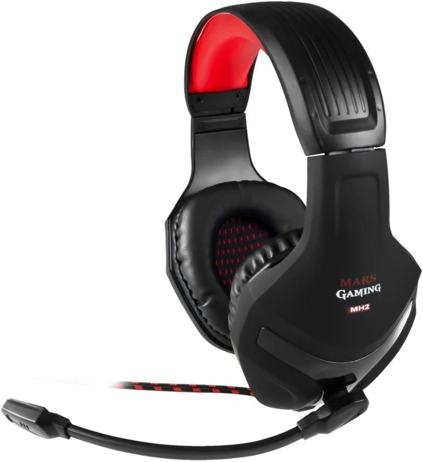 Mars Gaming MH2, auriculares, jack 3.5, Pc/Ps4 /Xbox One/ Smartphone