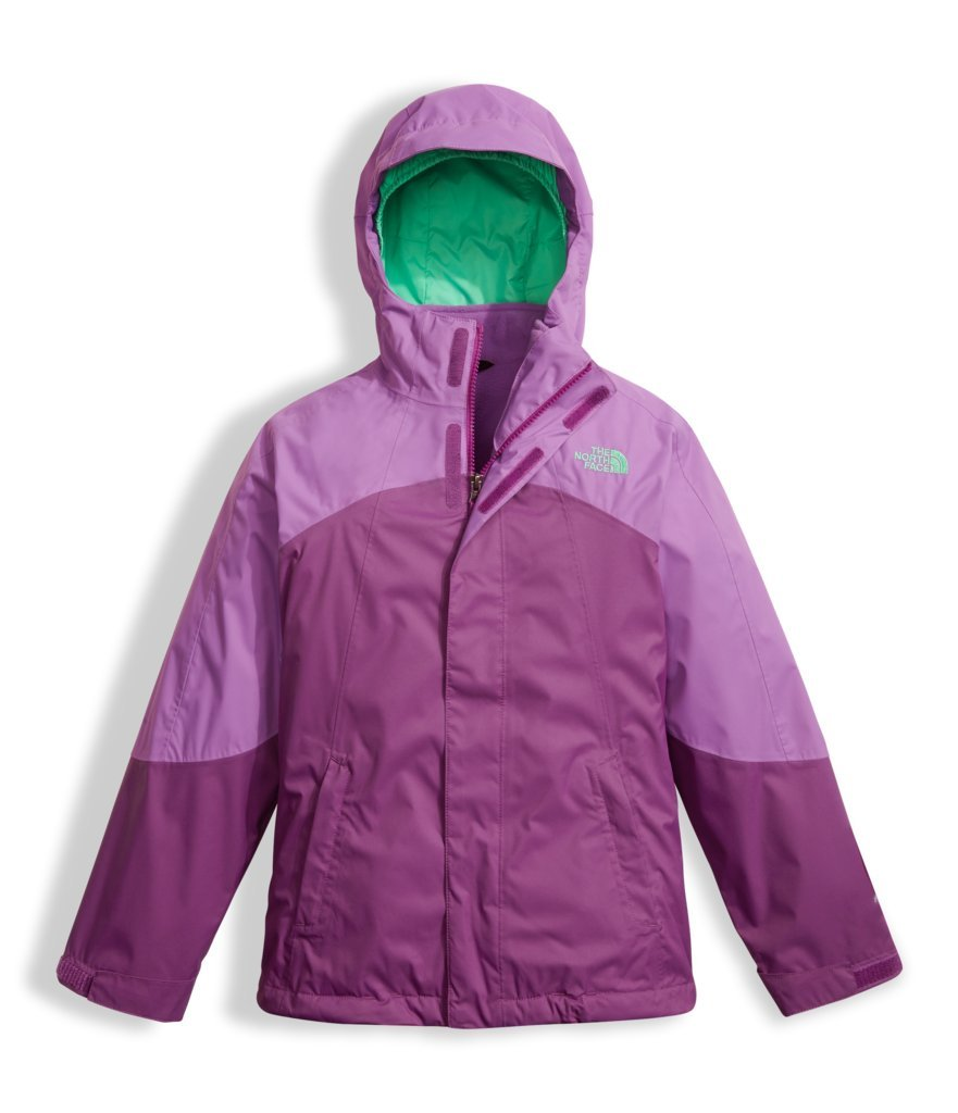 The North Face Girls Mountain View Triclimate Jacket - Bellflower Purple - XS