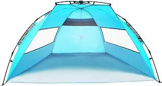 Latinaric Abris De Plage Pop-up Portable Beach Tent Pour Jardin Camping Plage Voyage