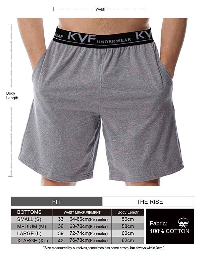eb1ad8d41c5d KalvonFu Men's Cotton Casual Loose Elastic Long Boxer with Pockets (S, Army  Green) at Amazon Men's Clothing store: