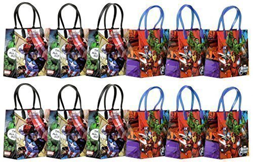 Marvel Avengers Party Favor Goodie Gift Bag -