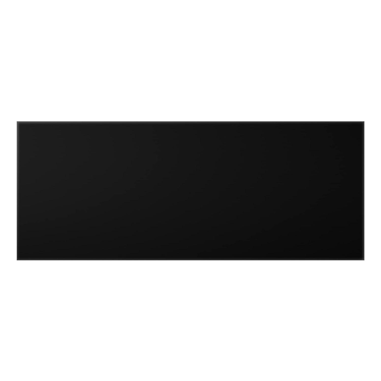 Bilderwelten Glass Splashback - Colour Black - Panoramic, Backsplash Cooker Splashback Protector Panel Decorative Splashback Panel, Dimension HxW: 40cm x 100cm PPS. Imaging GmbH
