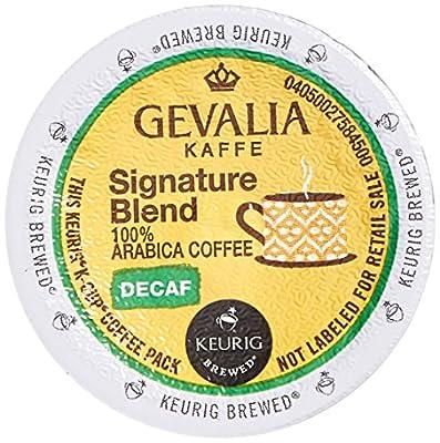 Gevalia Signature Blend Decaf K-Cup Packs, 24 Count (Retail Packaging)