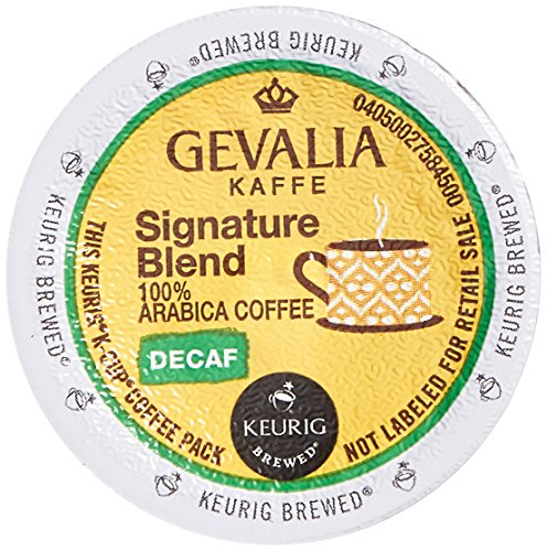 Gevalia Signature Blend Decaf K-Cup Packs, 24 Count (Retail Packaging)