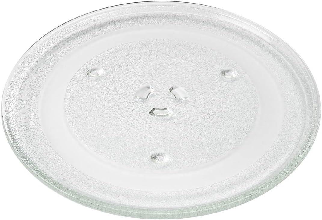 MIRTUX Plato para Microondas compatible de 288 mm de diámetro para Samsung, Moulinex. Código del recambio: DE7420102D