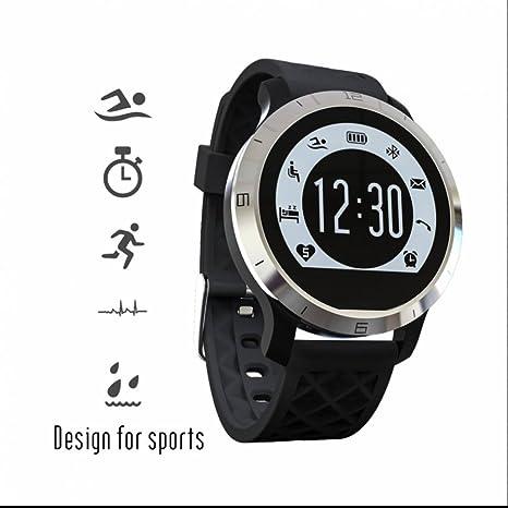 Sport Natación impermeable Bluetooth reloj inteligente pulsómetro ...