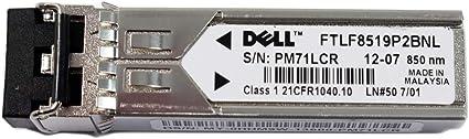 1x Genuine Dell HHM9W FTLF8519P2BNL 2GB GBIC 1000SX 850nm Transceiver