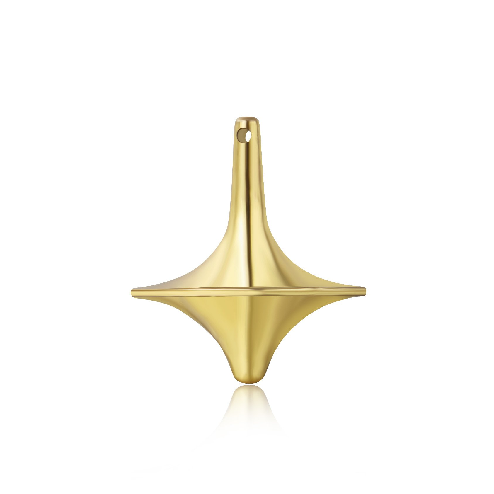 The Perfect Balance between Performance and Beauty by ForeverSpin ForeverSpin Bronze Spinning Top Spinning Tops Built to Last and Spin Forever