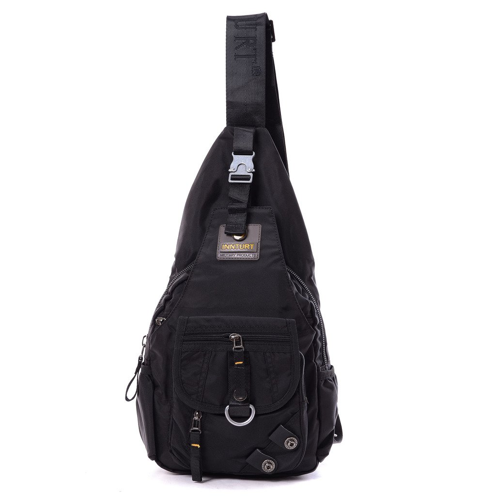 7115e0afae0a Amazon.com: BIG SALE- DDDH Sling Bags Shoulder Backpack Chest Pack Military  Crossbody Bags for Man Women(Black): Sports & Outdoors