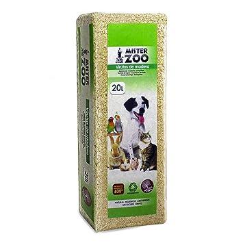 MovilCom® - Virutas de Madera para Mascotas, Ropa de Cama, serrín para Animales