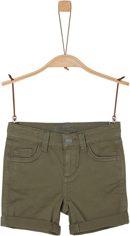 s.Oliver RED Label Jungen Slim Fit Elastische Twill-Shorts