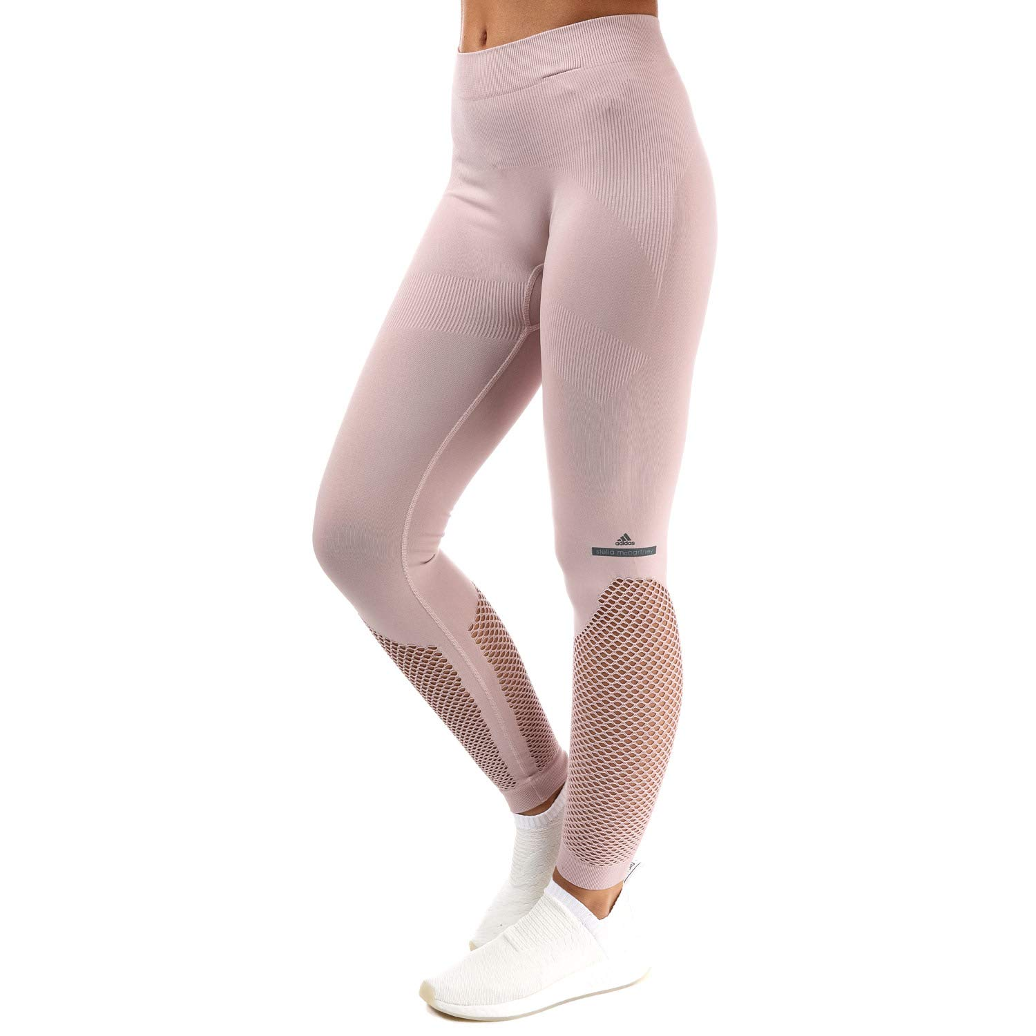 adidas tight by stella mccartney in mesh rosa größe uk