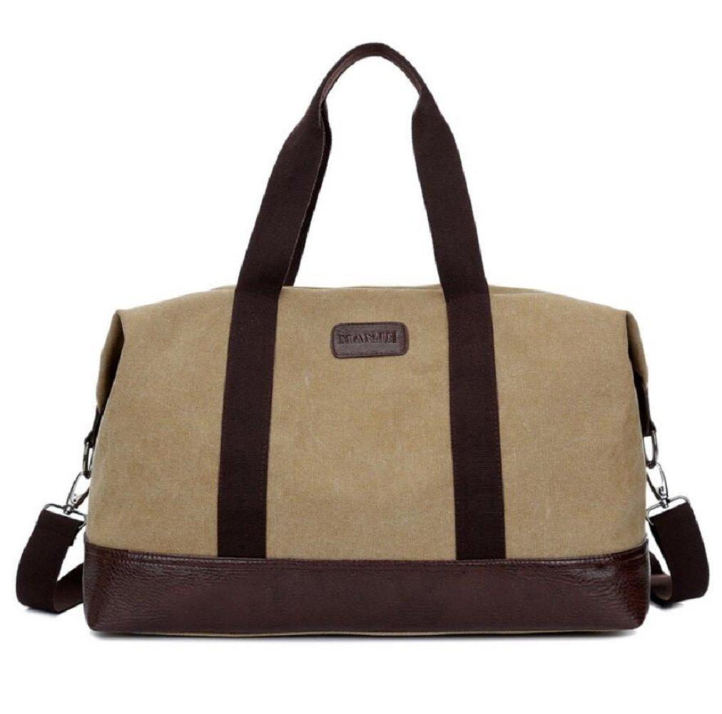 ZC&J Retro Segeltuch-Handtasche, 36L große Kapazitäts-Handtaschen-Beutel-Beutel-Spielraum-Feiertags-Schulter-Beutel-Beutel, Qualitäts-Handtasche einfach und haltbar