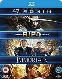 47 Ronin (3D) / RIPD (3D) / Immortals (3D) - 3 Movies Blu-ray Set