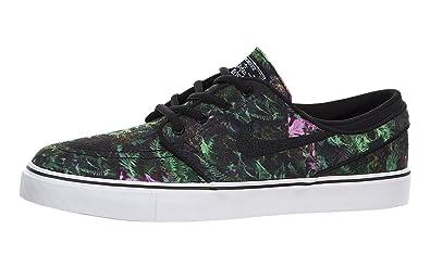 451b57631b456 Amazon.com: Nike SB Stefan Janoski Premium Canvas (Kids) Black: Shoes