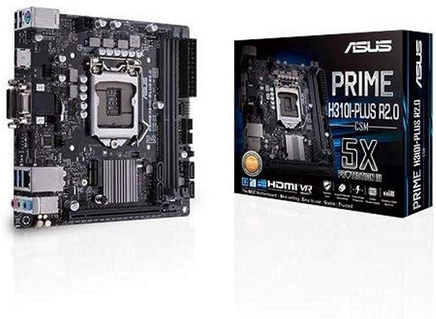 Asus Prime H310i Plus R2 0 Csm Mainboard Computer Zubehör