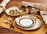 Hardwood Forest Dinnerware Set by Susan Knowles-Jordan